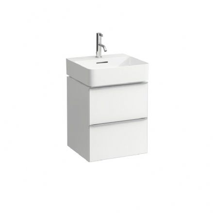 815281 - Laufen Val 450mm x 420mm Washbasin & Space Vanity Unit - 8.1528.1